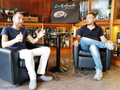 """Massimiliano Nardella ospite dell'ottava puntata di """"Caffè Quotidiano 2""""   video"""