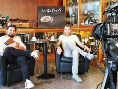 """Nell'ultima puntata di """"Caffè Quotidiano 2.0"""" l'""""ospite"""" è Luigi Mossuto   video"""