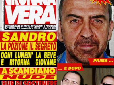 """""""LA SPECIE IMPREVISTA"""" oltre i 500 articoli: """"La pozione misteriosa di Sandro: la beve ogni lunedì e diventa giovane"""""""