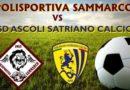 Polisportiva Sammarco, domani si torna in campo (tempo e campo permettendo)