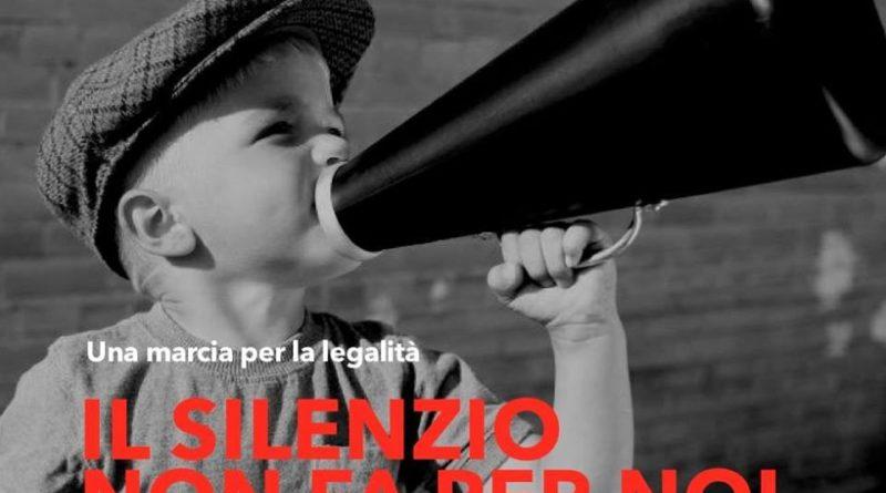 """""""Il silenzio non fa per noi"""": giovedì 28 marzo manifestazione antimafia a Monte Sant'Angelo"""