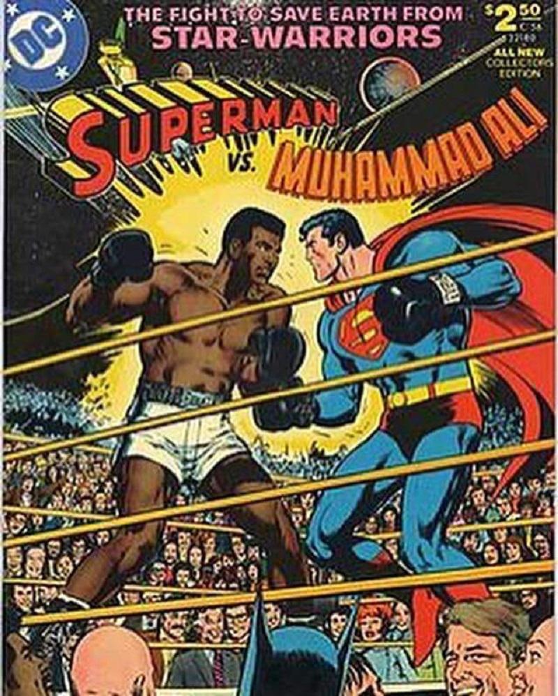 Un fumetto, una storia: Quando Cassius Clay sconfisse Superman!!