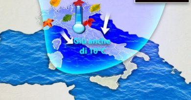 Situazione meteo prevista per domani, 20 settembre