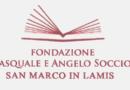 """Claudio Lecci nuovo presidente della """"Fondazione Pasquale e Angelo Soccio"""""""