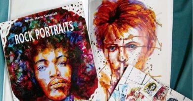 Rock Portraits, i miti del rock di Nicola M. Spagnoli