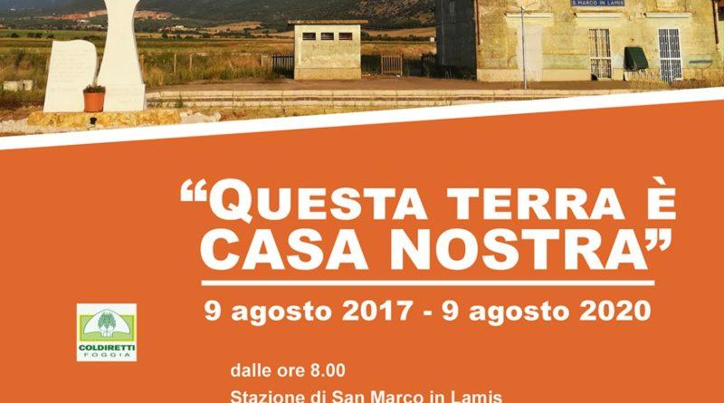 """Libera ricorda i fratelli Luciani: """"Questa terra è CASA NOSTRA"""""""