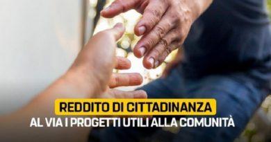 San Marco in Lamis: Reddito di Cittadinanza, al via i PUC (Progetti Utili alla Collettività)