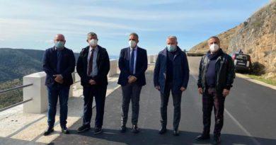 Dopo sei anni riapre al traffico la SP 48 San Marco in Lamis – San Nicandro Garganico