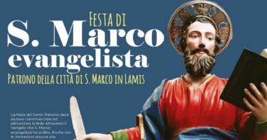 Tutto pronto per la festa di San Marco Evangelista