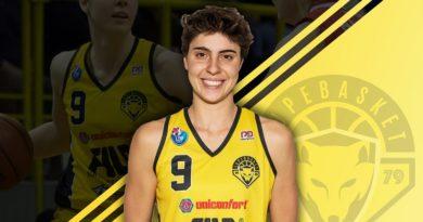 Giulia Ciavarella nella Nazionale di basket femminile