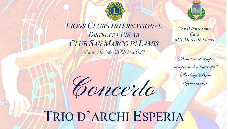 San Marco in Lamis, Festa Europea della Musica: il Lions Club organizza concerto