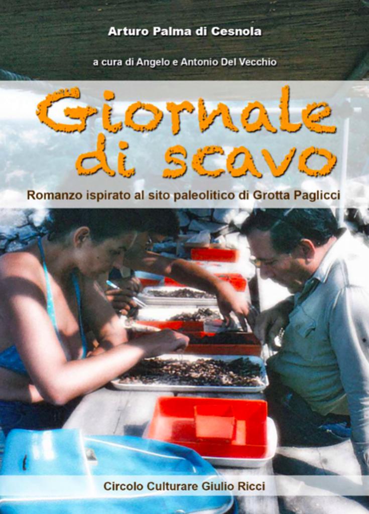 La copertina del romanzo di Arturo Palma di Cesnola.