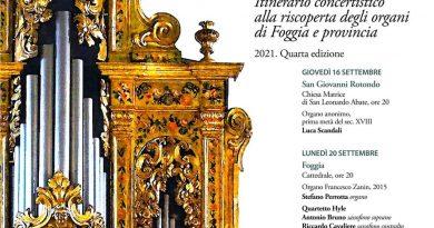 Il 22 settembre riprenderanno i concerti per organo nella Rettoria di Santa Chiara