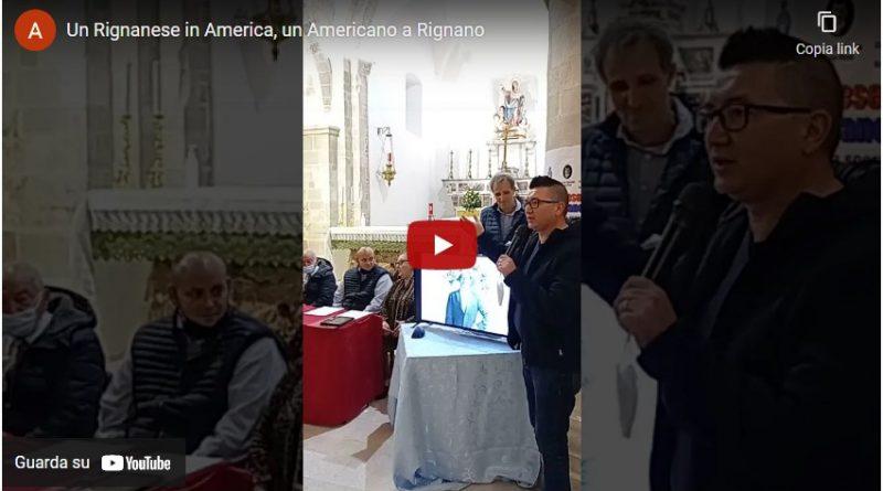 Serata con gli Americani partecipata e ricca di pathos a Rignano Garganico
